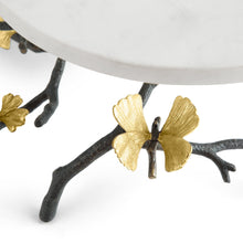 Load image into Gallery viewer, Butterfly Ginkgo Cake Stand - By Michael Aram