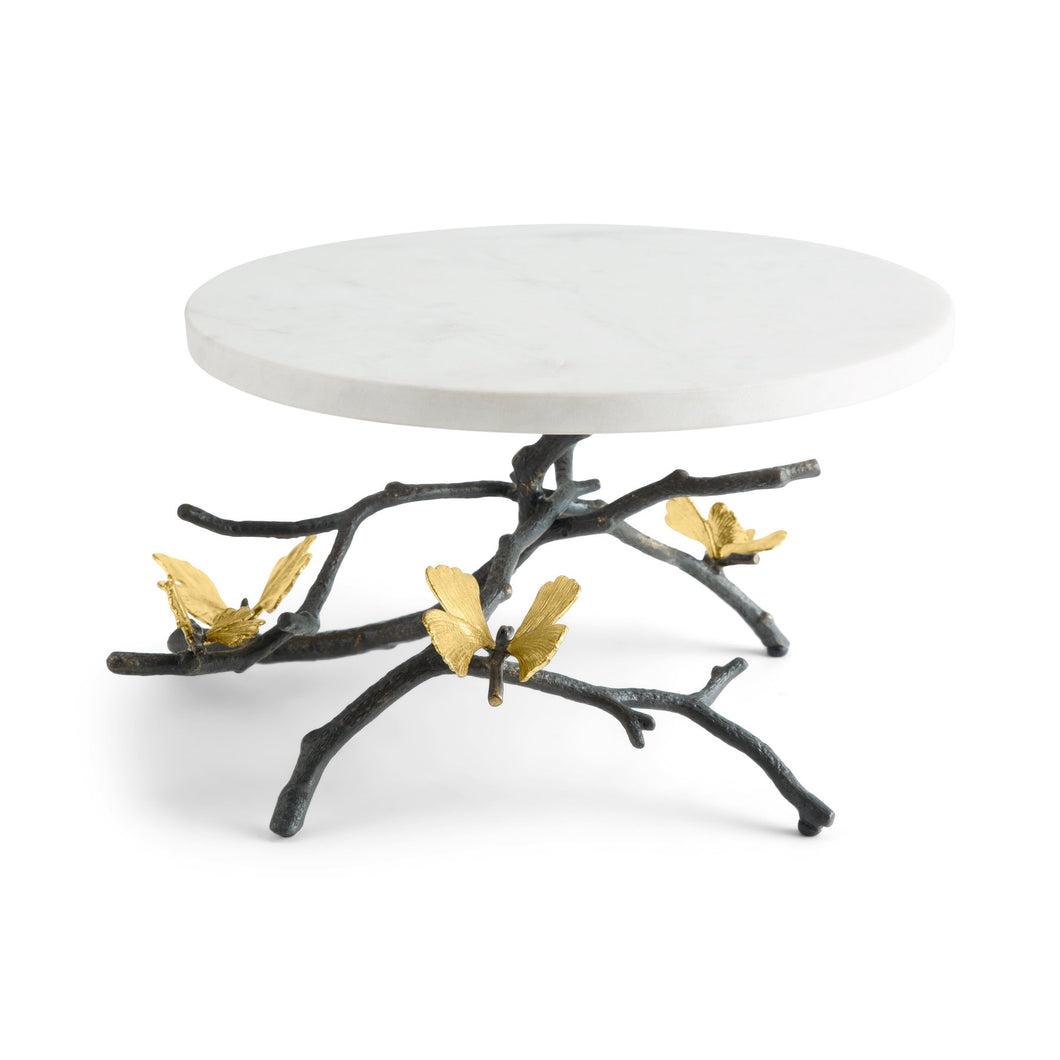 Butterfly Ginkgo Cake Stand - By Michael Aram