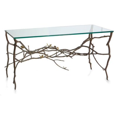 Butterfly Ginkgo Console Table - By Michael Aram