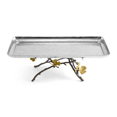 Butterfly Ginkgo Ftd Cntr Tray - By Michael Aram