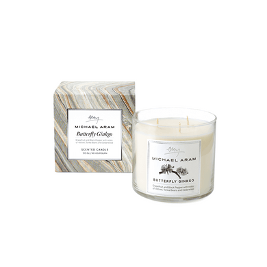 Butterfly Ginkgo Scntd Candle - By Michael Aram