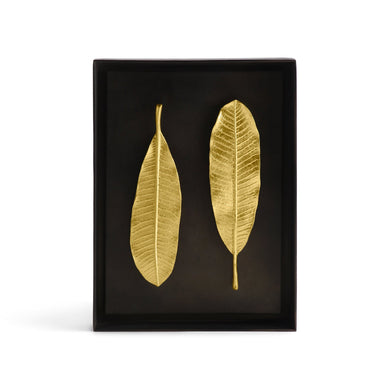 Champa Leaf Shadow Box - By Michael Aram