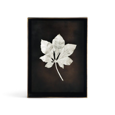 Chestnut Leaf Shadow Box Anp - By Michael Aram