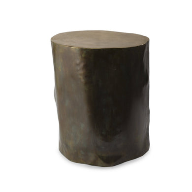 Etched Stool Medium - By Michael Aram