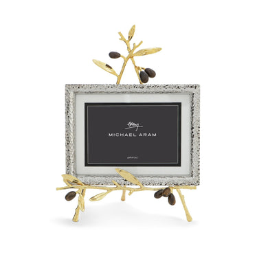 Olive Branch Gold Easel Frame - By Michael Aram