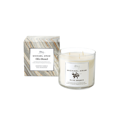 Olive Branch Scented Candle - By Michael Aram