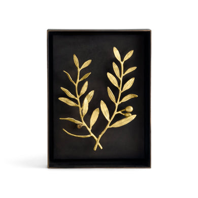 Olive Branch Shadow Box - By Michael Aram