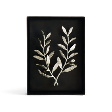Olive Branch Shadow Box Anp - By Michael Aram