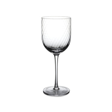 Twist Diamond Wine Glass - By Michael Aram