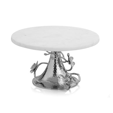 White Orchid Cake Stand - By Michael Aram