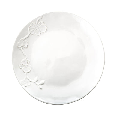 White Orchid Sw Dinner Plate - By Michael Aram