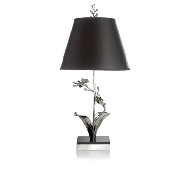 White Orchid Table Lamp - By Michael Aram