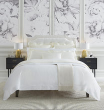 Load image into Gallery viewer, Full/Queen Duvet Cover 88X92 - Milos Collection - By Sferra