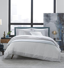 Load image into Gallery viewer, Full/Queen Duvet Cover 88X92 - Casida Collection - By Sferra