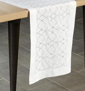 Table Runner 15X90 - Dutchess Collection - By Sferra