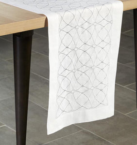 Table Runner 15X72 - Dutchess Collection - By Sferra