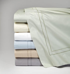 Twin Flat Sheet 74X114 - Finna Collection - By Sferra