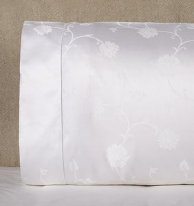 Standard Pillowcase 22X33 - Giza Jacquard Collection - By Sferra