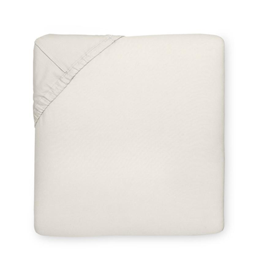 Queen Bottom Ftd 60X80X17 - Giza Percale Collection - By Sferra