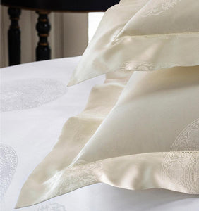 Standard Pillowsham 21X26 - Giza Medallion Collection - By Sferra