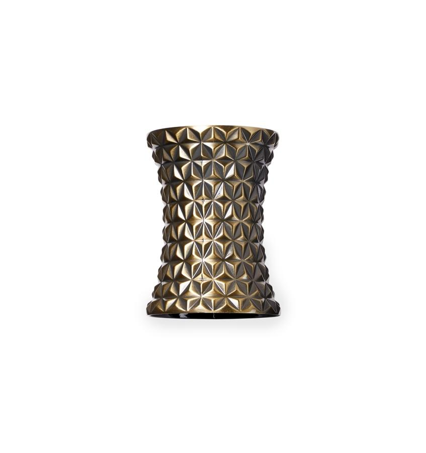 S/2 Napkin Ring - Facet  Collection - By Sferra