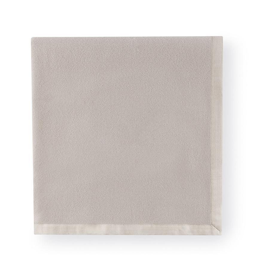 Bagged Linen Twin Blanket 75X94 - Olindo Collection - By Sferra
