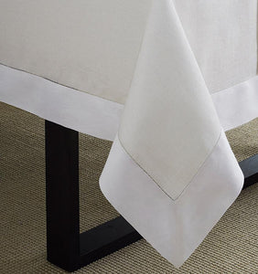 Oblong Tablecloth 66X86 - Reece Collection - By Sferra