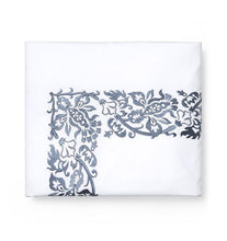 Load image into Gallery viewer, Full/Queen Duvet Cover 88X92 - Saxon Collection - By Sferra