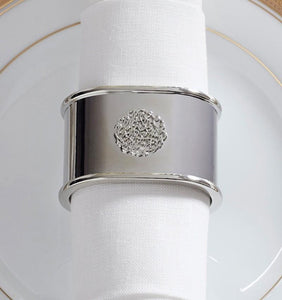 S/2 Napkin Ring - Signet  Collection - By Sferra