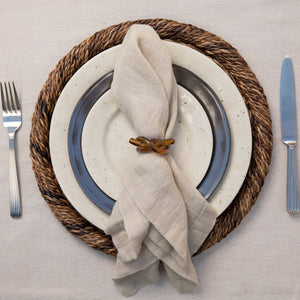 Tortoise Knot Napkin Ring - By Juliska