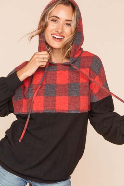Denver Plaid Pullover