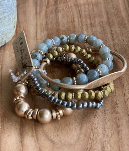 Boho Stacking Stretch Bracelet