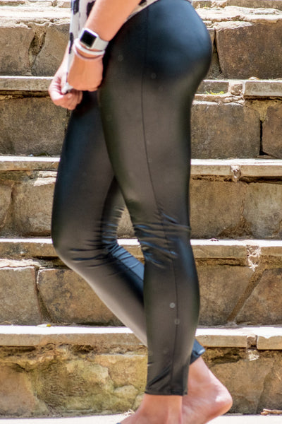 Rebel Girl Faux Leather Leggings