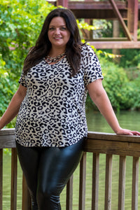 Savannah Leopard Top