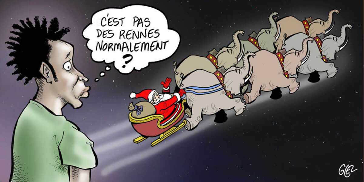 blague pere noel sms