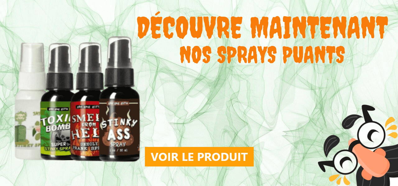 Spray puant