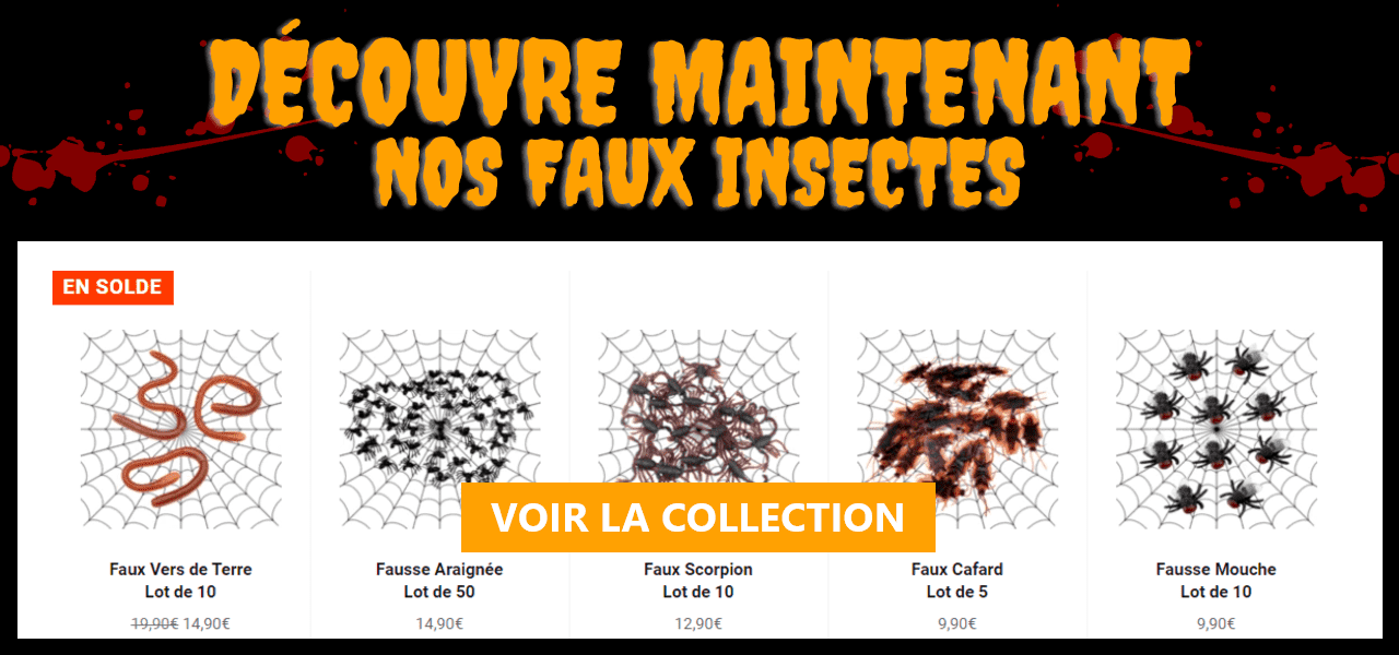 Insectes blagues Halloween