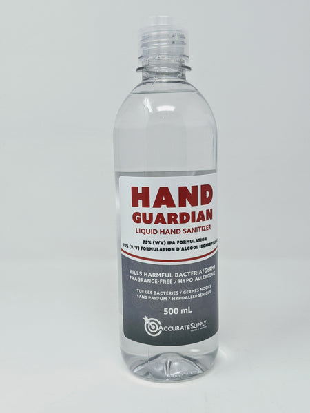 Hand Guardian 75% IPA Hand Sanitizer Made in Canada