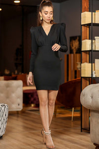 Women's Black Short Dress
