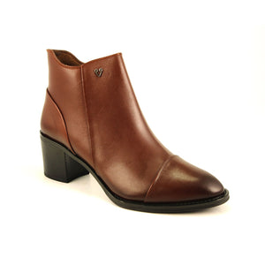Women's Ginger Leather Boots