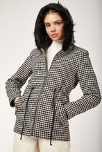 Load image into Gallery viewer, Women's Plaid Black Cachet Coat