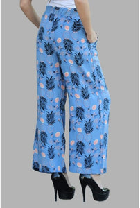 Vavin PINEAPPLE PANTS - Blue