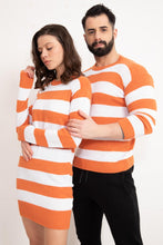 Load image into Gallery viewer, Couple's Striped Sweater Set