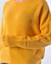 Load image into Gallery viewer, Women's Curved Hem Tricot Sweater