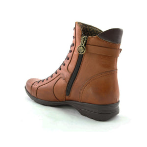 Women's Ginger Leather Comfort Boots