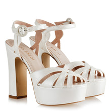 Load image into Gallery viewer, Women's Thick Heeled Platform Bridal Shoes