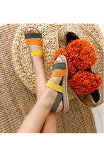 Load image into Gallery viewer, Women's Multi-color Summer Sandals