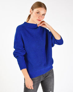 Women's Mock-Turtleneck Knit Sweater