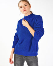 Load image into Gallery viewer, Women's Mock-Turtleneck Knit Sweater