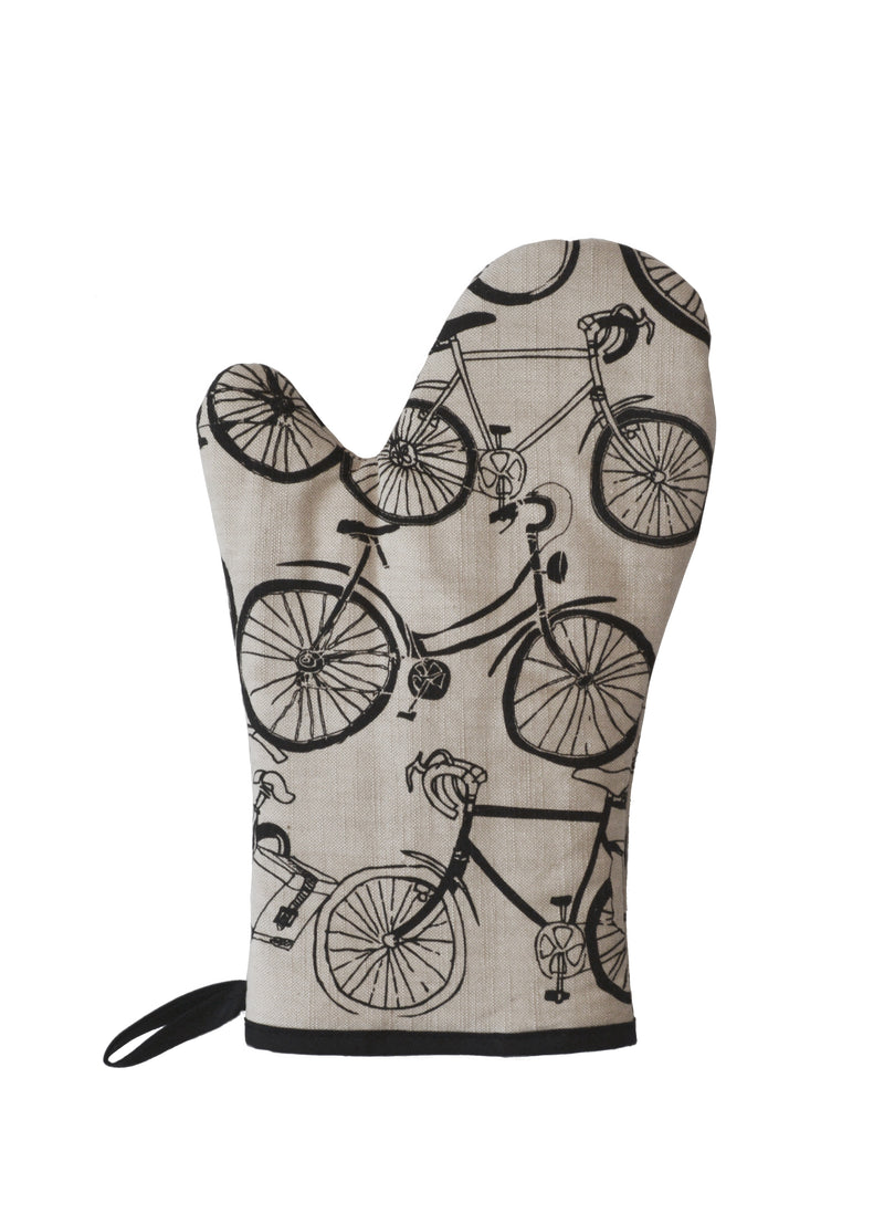 Oven Mitts Bikes
